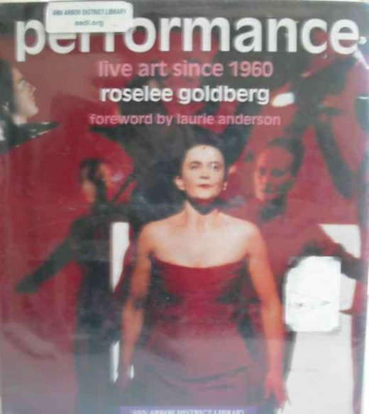 Performance: Live Art since 1960 Front Cover