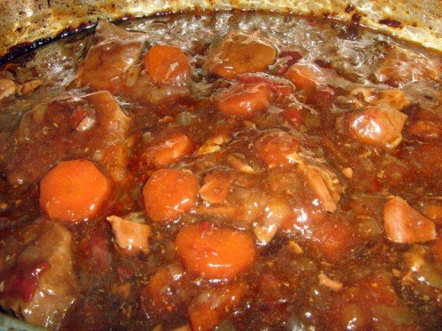 Recipe for Beef Stew and Braised Steak