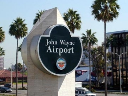 My return to Las Vegas was courtesy of a flight out of John Wayne Airport