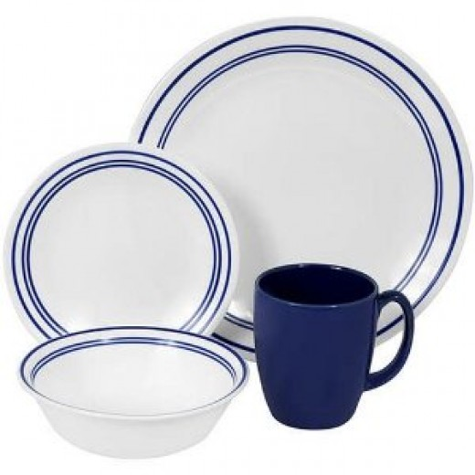 Corelle Livingware Classic Cafe Dinnerware Set 16-pc.