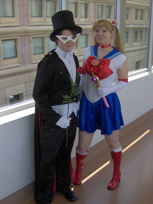 Tuxedo Man and Sailor Moon