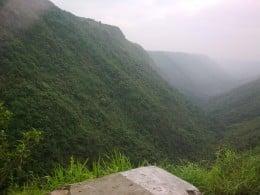 Scenery at cherrapunjee