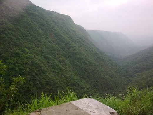 Scenery at cherrapunjee