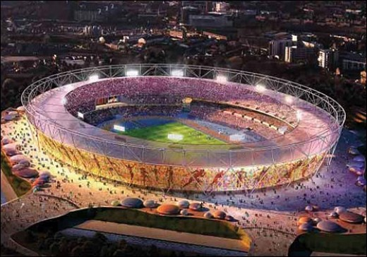Royal London Olympics 2012 Stadium