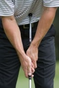 Save strokes with a belly putter