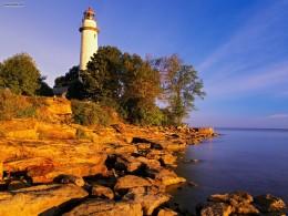 Point Aux Barques Lighthouse, Port Austin, Michigan