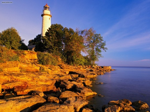 Point Aux Barques Lighthouse, Port Austin, Michigan