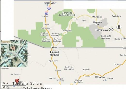 Tubutaum, Sonora