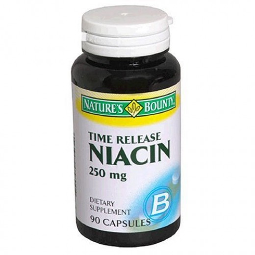 Niacin is inexpensive and readily available.
