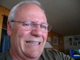 How I remember grandpa's grimmace smile!