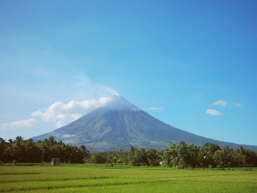 Magnificent Mayon Volcano