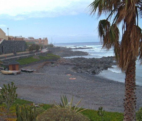 Another view of the La Caleta beach