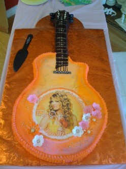 Taylor Swift Birthday on Taylor Swift Birthday Cake And Cupcakes