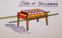 Showbread also was known as the bread of the presence because it was to be always in the Lords presence.