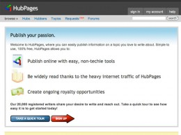 "You too can ""publish your passion."""