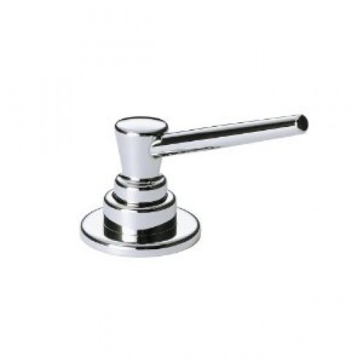 Delta Faucet RP1001 Accessory Soap and Lotion Dispenser For Thick Tile, Chrome