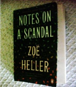 Notes on a scandal by zoe heller, book review. available amazon based protagonist novel.