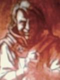 The firey deity Loki