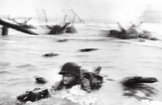 American courage was measured in Normandy