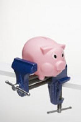 Poor piggy bank!