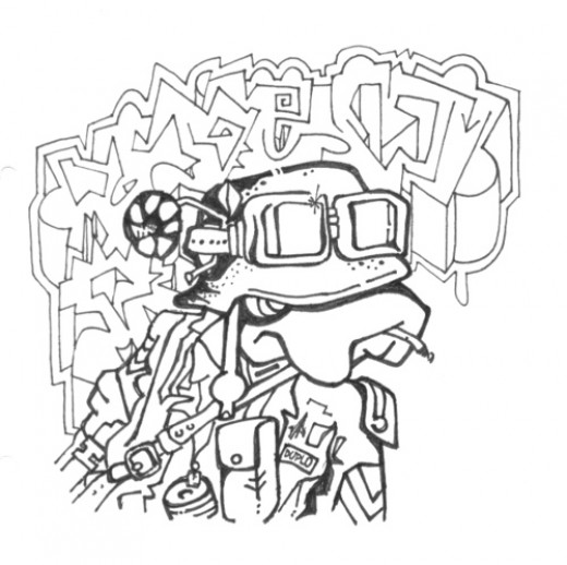 Sketches - Graffiti