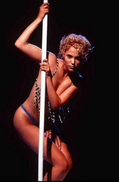 Elizabeth Berkley from the movie Showgirls.