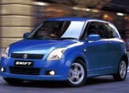 Maruti Swift Diesel Metallic Blue Front side view