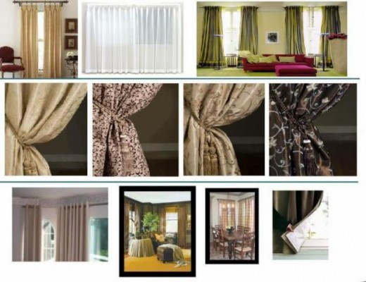 Contemporary Curtains, Modern Curtain, Curtain Modern