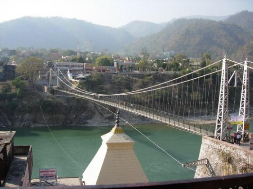 The Rishikesh Bridge (Lakshman Jhoola)