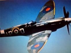 Spitfire WW2 fighter plane.
