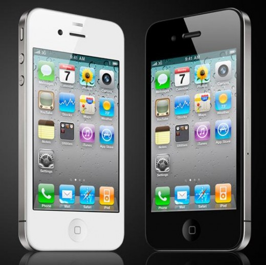 iPhone 4 is available in black or white