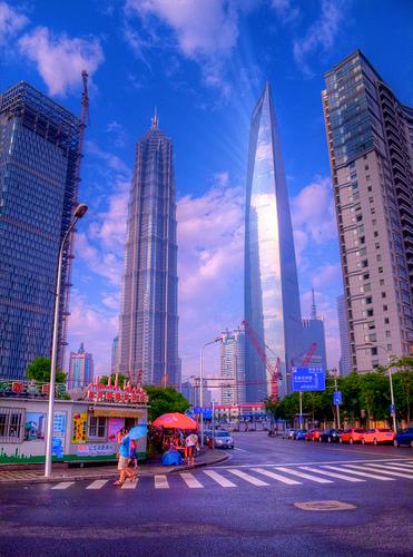 Shanghai World Financial Center.