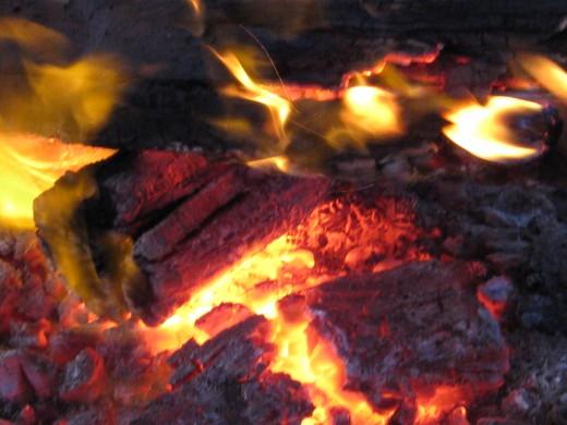 Love a fire in winter !