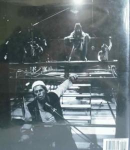 "Back cover of Roselee Goldberg's book ""Performance: Live Art since 1960""."