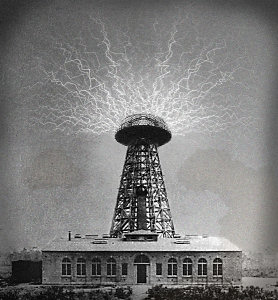 The Wardenclyffe tower was the culmination of Tesla's work and it is this that J P Morgan blocked and torn down.