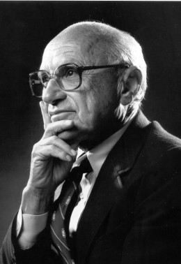 Milton Friedman is the man behind the capitalist idea of the shock doctrine that was used in the Southern Cone of South America and in Iraq. He won the Nobel Prize on Economics.