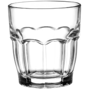 Bormioli Rocco Rock Bar Stackable Juice Glasses, Set of 6