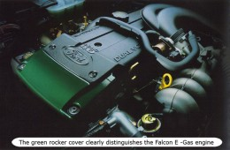 E-Gas engine fitted to Australia's Ford Falcon