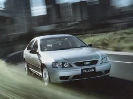 Australian Ford Falcon available from the factory with a dedicated LPG engine.