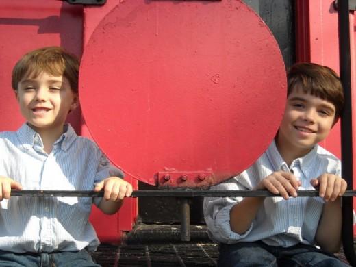 Tristan and Jonathan