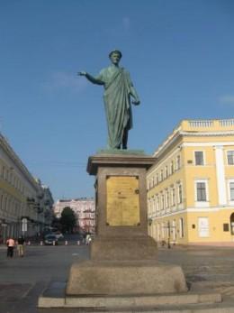 Duke de Richelieu monument