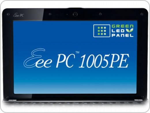 Your buy includes LED backlit Technology Of Asus eee pc 1005pe