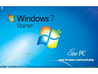 You buy The Best Pre-installed OS when you buy Asus eee pc 1005pe