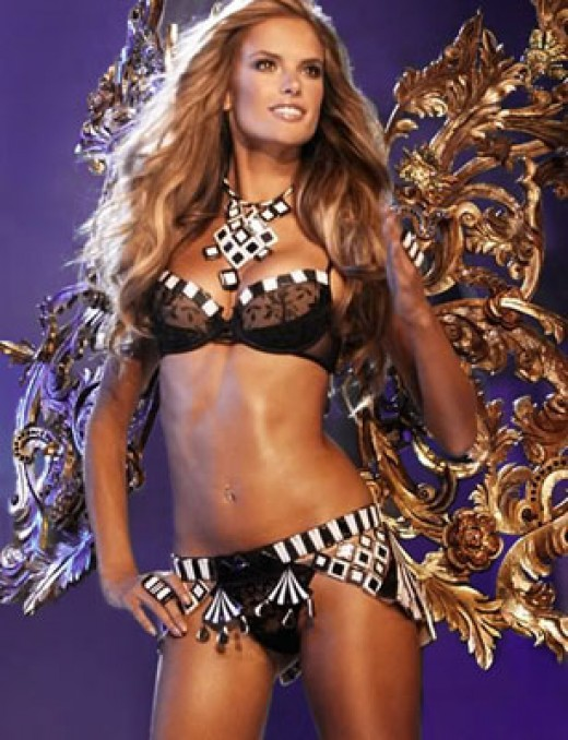 The most beautiful woman in the world Victoria Secret model  Allesandra Amnbrosio.