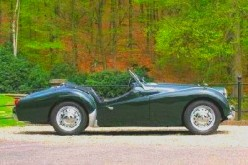 A 1961 Triumph TR-3 is my all-time favorite sports car