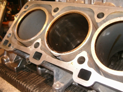 Wet sleeve cylinders in the Triumphs. If one offends you,  it takes about three or four hours to pluck it out and replace it!