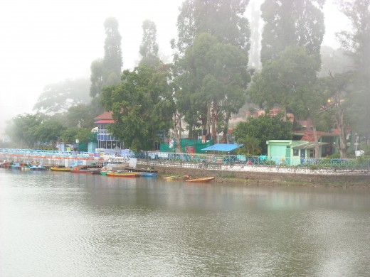 Boating in Yercaud Lake