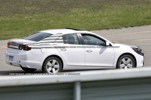 Future Cars and Autos - Spy shots, renderings, photos and automotive news: 2012/2013 Chevrolet