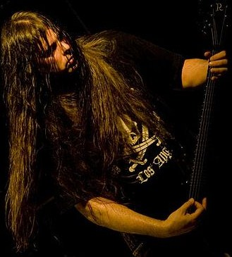 Pat O'Brien of Cannibal Corpse, America's most prominent death metal band.