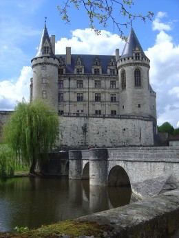 La Rochefoucauld has a real fairytale castle.